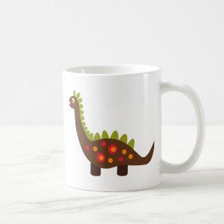 Retro Dinosaurier Kaffeetasse