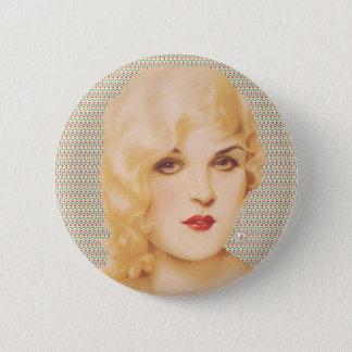 Retro Dreißigerjahre Liebe Runder Button 5,1 Cm