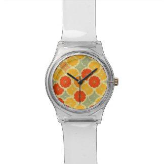 Retro Druck-Uhr Armbanduhr