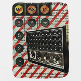 Retro Elektronik-Lautsprecher kurzer Wellen-Radio Babydecke