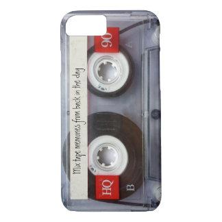Rétro enregistreur à cassettes coque iPhone 7