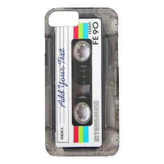 Rétro enregistreur à cassettes drôle de musique du coque iPhone 7