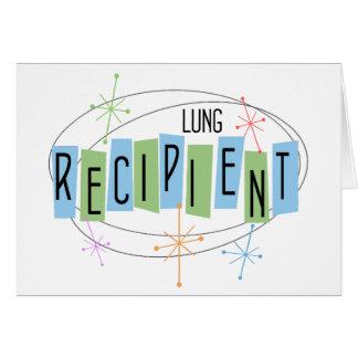Retro Entwurf Lungen-Transplantations-Empfänger Karte