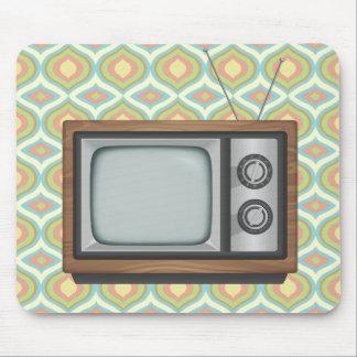 Retro Fernsehen Mauspad