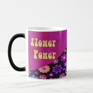 Rétro flower power super 60s les années 70 mug magique
