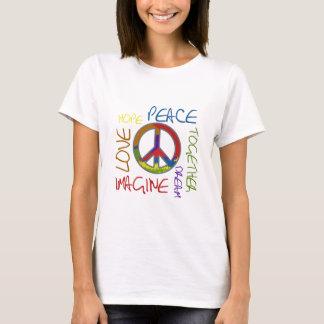 Retro Frieden T-Shirt