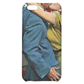 Retro Fünfzigerjahre Save the Date iPhone Fall