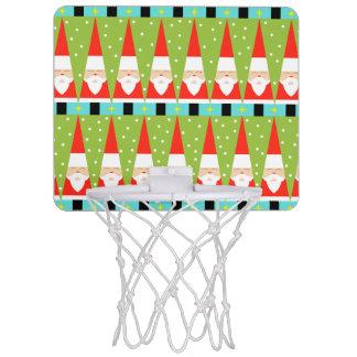 Retro geometrisches Sanktminibasketball-Ziel Mini Basketball Ring