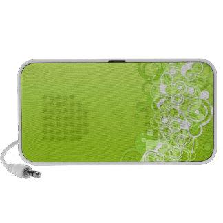 Rétro griffonnage vert haut-parleur iPod