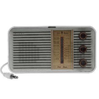 Rétro haut-parleur de la radio MP3/PC de valve vin