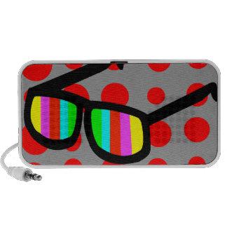 Rétro haut-parleur de lunettes de soleil