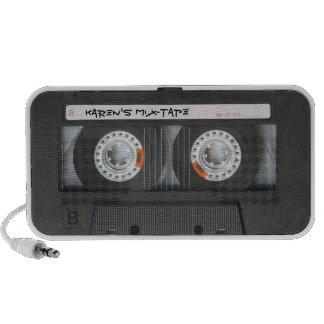 Rétro haut-parleur d'enregistreur à cassettes