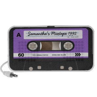 Rétro haut-parleur personnalisé par cassette pourp
