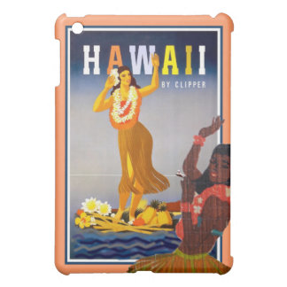 Retro Hawaii-Reise hula Tänzerkunst iPad Mini Hülle