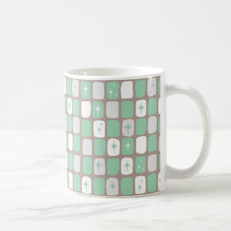 Retro Jade-Sternexplosion-Kaffee-Tasse Kaffeetasse