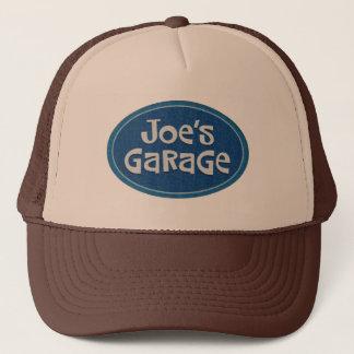 Retro Joes Garagen-Logo Truckerkappe