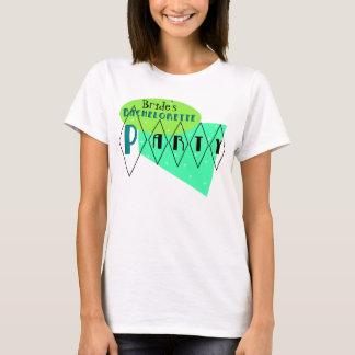 Retro Junggeselinnen-Abschieds-Limones T-Shirt