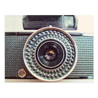 Retro Kamera Postkarte