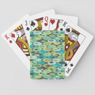 Retro Kräuselungen Spielkarten