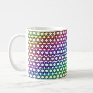 Retro Kreise der schönen Tasse