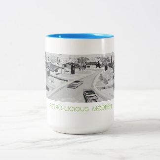 Retro-licious moderne Tasse
