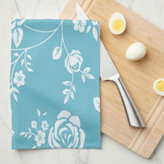 Retro_Maggie-Floral_Maggie Blue* Gewohnheit Color_ Geschirrtuch