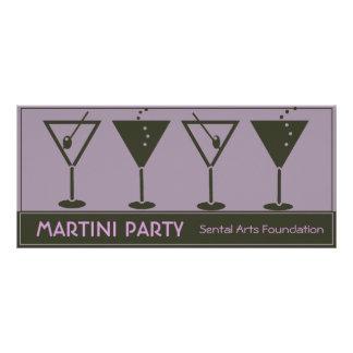 Retro Martini-Party Einladung
