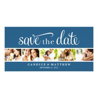 RETRO MITTEILUNG DER LIEBE-%PIPE% SAVE THE DATE INDIVIDUELLE FOTOKARTEN