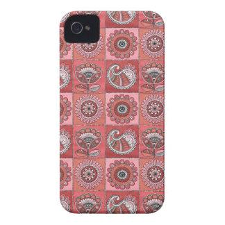 Rétro motif romantique coque iPhone 4 Case-Mate