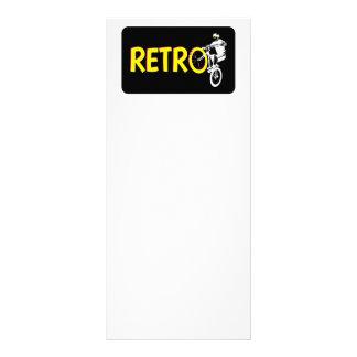 Retro Mountainbike Werbekarte