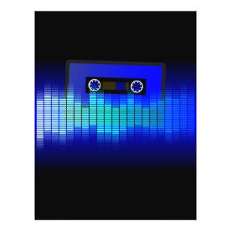 Retro Musik 21,6 X 27,9 Cm Flyer