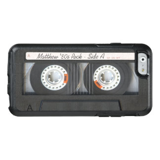 Retro Musik-Kassetten-Mischungs-Band-lustiger OtterBox iPhone 6/6s Hülle