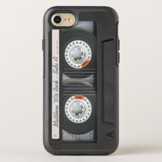Retro Musik-Kassetten-Mischungs-Band-lustiger OtterBox Symmetry iPhone 8/7 Hülle
