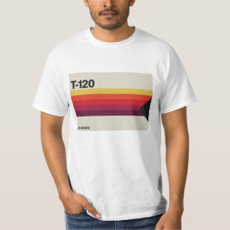 Retro Musik- und Video-Kassettengraphik T-Shirt