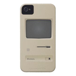 Rétro ordinateur vintage frais Blackberry de PC de Coque iPhone 4