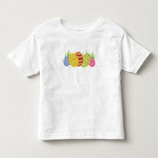 Retro Ostereier im Gras Kleinkind T-shirt