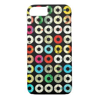 Retro Platten iPhone 8/7 Hülle