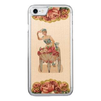 RETRO REBELLENRosen-Verkäufer iPhone 5/5S nehmen Carved iPhone 8/7 Hülle
