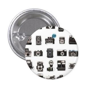 Rétro règle d'appareils-photo pin's avec agrafe