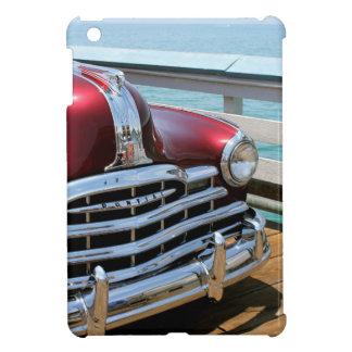 Retro rotes Auto iPad Mini Hülle