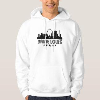 Retro Saint Louis-Skyline Hoodie