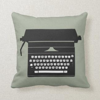 Retro Schreibmaschinen-Wurfskissen Kissen