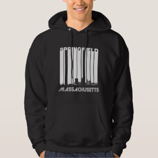 Retro Skyline Springfields Massachusetts Hoodie