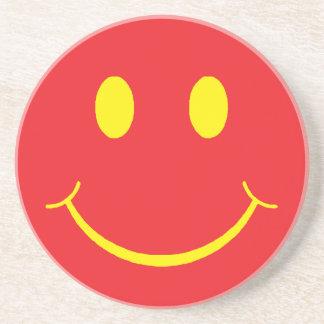 Retro smiley untersetzer