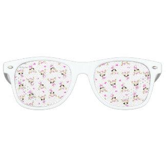 Retro Sonnegläser des Chi Yum Yum Retro Sonnenbrillen