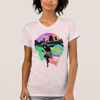 """Retro Stadt "" T-Shirt"