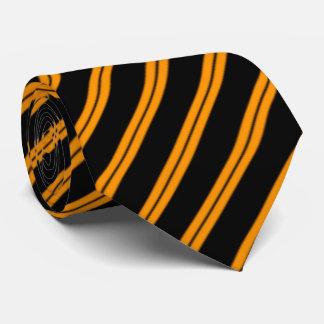Retro Streifen-Krawatte Bedruckte Krawatte