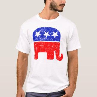 Retro T-Shirt des republikanischen Party-Logos