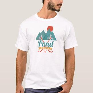 Retro Teich-Hockey T-Shirt