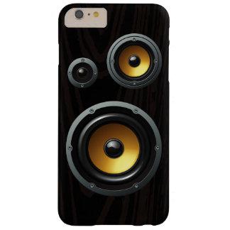 Rétro trio en bois de haut-parleur de grain coque barely there iPhone 6 plus